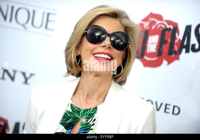 Christine Baranski attending the 'Ricki And The Flash' New York premiere at AMC Lincoln Square Theater on - Stock Image