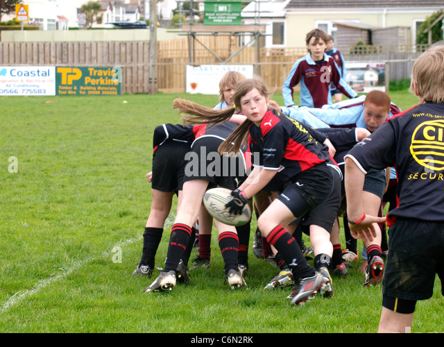 photo of girls playing rugby № 17782
