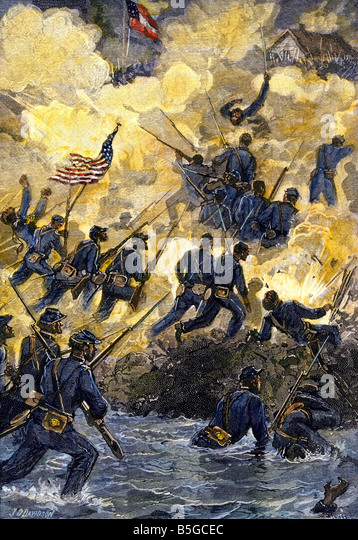 the 54th massachusetts: the doomed assault on fort wagner essay The 54th massachusetts volunteer infantry regiment was the first such regiment raised among free negroes of the north the regiment's great courage and steadfastness in all of its engagements, and especially the assault on fort wagner, had a significant impact on the perceptions and opinions of.