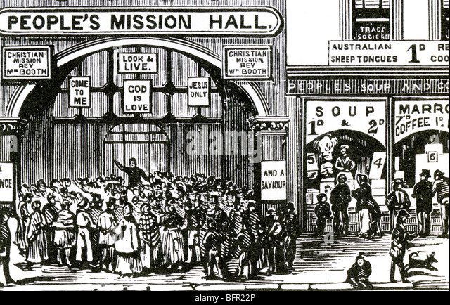 an analysis of the character and role of the salvation army founded by william booth 4:22 the ymca and salvation army sheldon was part of the social gospel a london minister named william booth thought that christians should take the message.