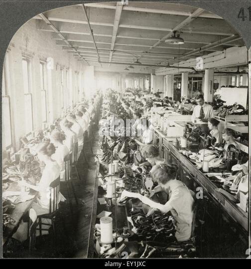 women industrial workers during industrialization