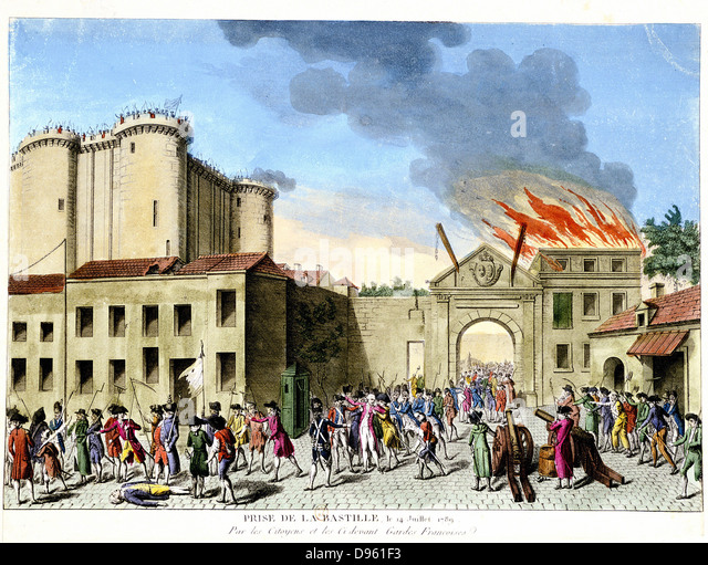 the bastille and the french revolution