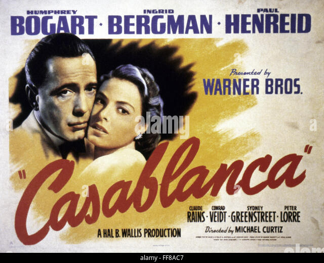 casablanca hollywood essay