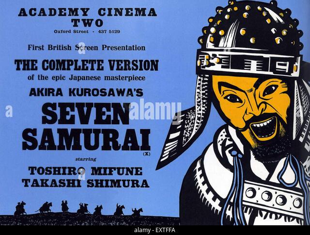 an analysis of akira kurosawas masterpiece the seven samurai