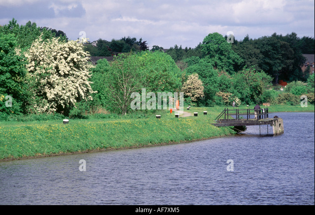 Caledonian Canal - Stock Image