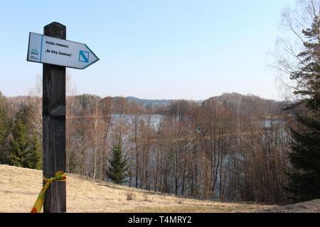 Suwalski Park Krajobrazowy (Suwałki Landscape Park) - Stock Image