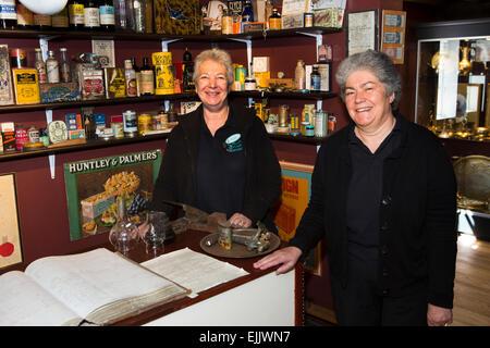 Falklands, Port Stanley, Historic, Dockyard Museum, Tooie Goodman and Eileen Davies - Stock Image