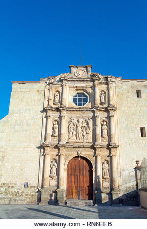 Templo y convento de san agustin, Oaxaca, mexico - Stock Image