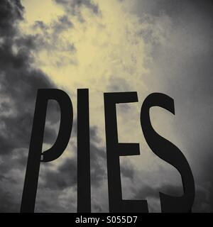 Pie in the sky - Stock Image