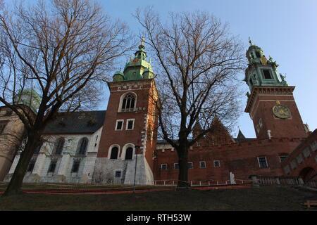 Wawel castle - Stock Image