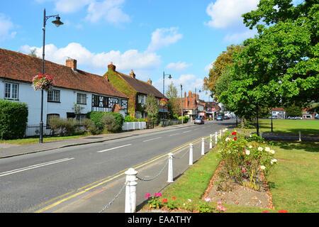 The Green, Wooburn Green, Buckinghamshire, England, United Kingdom - Stock Image