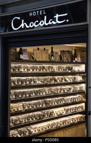 Hotel Chocolat - Stock Image