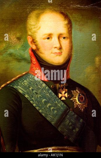 An officer of the hungarian tsar alexander i of russian infantry regiment nr