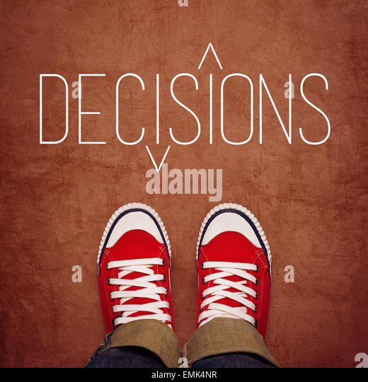 decision making everday concept
