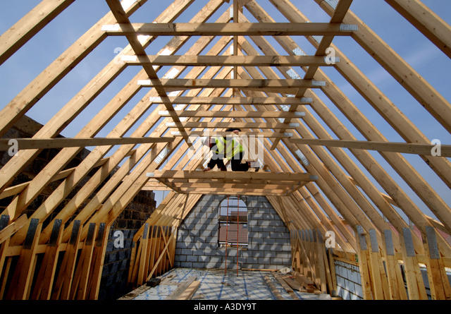 a-builder-surveying-the-roof-timbers-of-