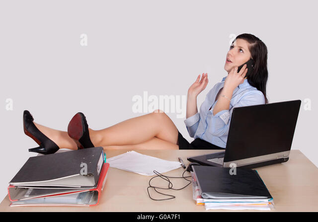 Old Man Fucks Young Girl On The Desk -