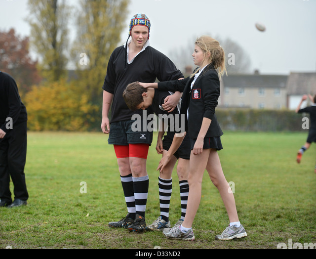 photo of girls playing rugby № 17786