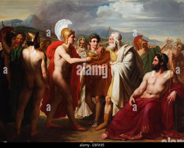 the conflict between agamemnon and achilles in homers the iliad