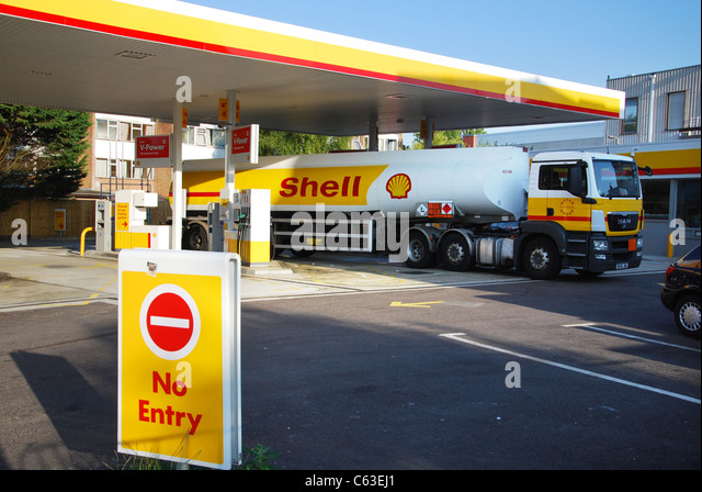 petroleum and shell