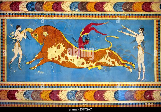 exploring the myths of minoan bull