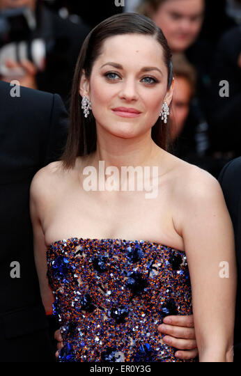 Cannes, France. 23rd May, 2015. Marion Cotillard attending the 'Macbeth' premiere at the 68th Cannes Film - Stock Image