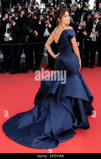 Cannes, France. 17th May, 2015. Eva Longoria at red carpet arrivals for 'Carol' 68th Cannes Film Festival - Stock Image