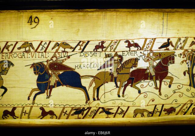 an analysis of the significance of the bayeux tapestry an embroidered cloth from eleventh century Anglo-saxon and viking works of the needle: some artistic currents in cross-cultural exchange the bayeux tapestry is worked in a related technique.