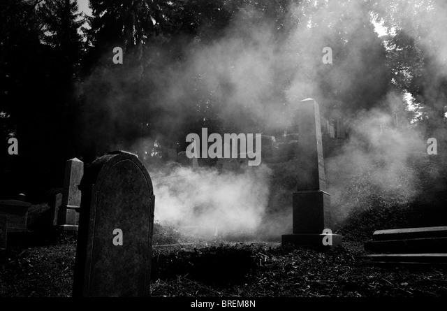 Romania - Transylvania, Sighisoara Graveyard - Stock Image