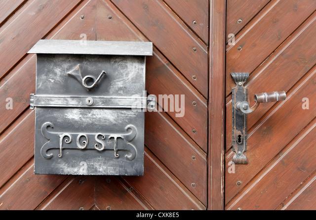 Почтовый ящик retro post