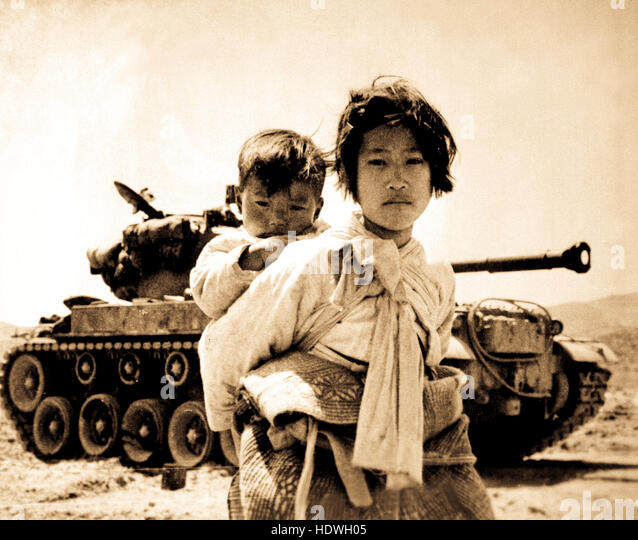 the causes and key players of the korean war that began in 1950