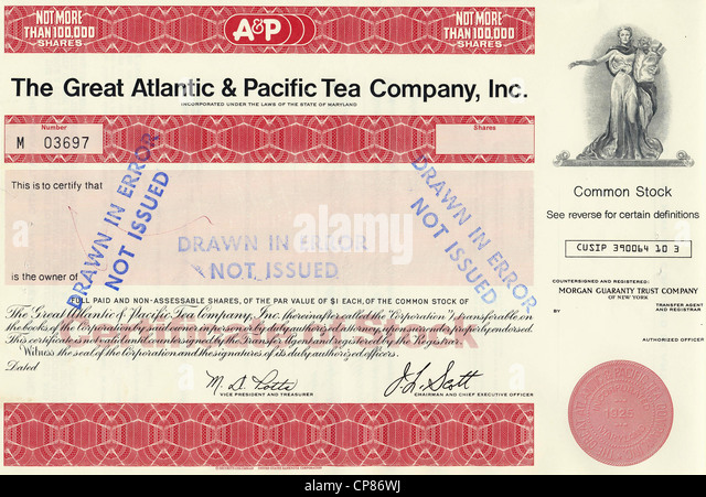 the great atlantic and pacific tea Great atlantic & pacific tea company, which operates the struggling a&p supermarket chain, is mulling the sale of its food emporium stores to boost liquidity, reuters said, citing a report in the wall street journal.