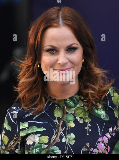 London, UK, UK. 19th July, 2015. Amy Poehler attends the UK Premiere of 'Inside Out' at Odeon Leciester - Stock Image