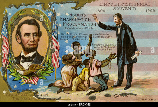history of slavery in the united states and the emancipation proclamation of 1862