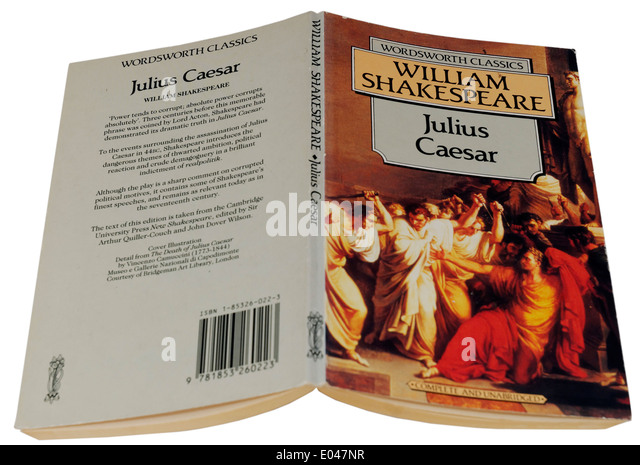 symbolism caesar julius caesar william shakespeare