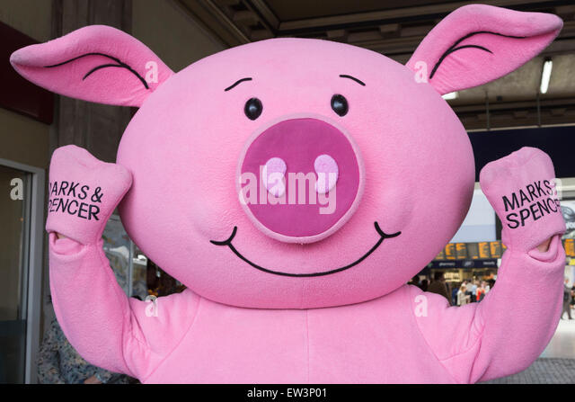 a-percy-pig-mascot-helps-to-advertise-th