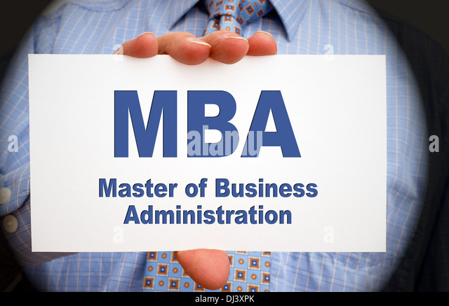 master of business administration essay