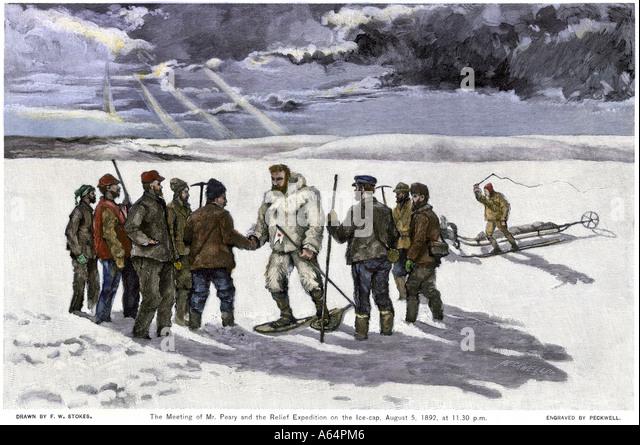 В 1909 году роберт пири достиг