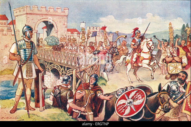 a history and strength of the roman military in roman empire