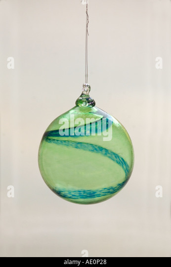 Sweden, Goteborg, Glass ornament, Helena Gibson Studio Stock Photo