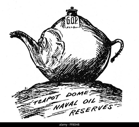 tea pot dome scandel This was a major case of corruption in the harding administration it had its share of political ramifications like almost all scandals, it.
