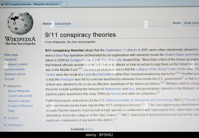 911 conspiracy theory essay Check out our top free essays on 9 11 conspiracy theory to help you write your own essay.