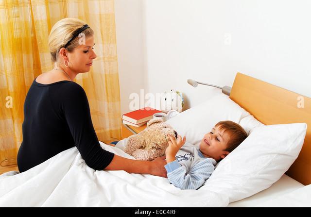 фото в постели болею