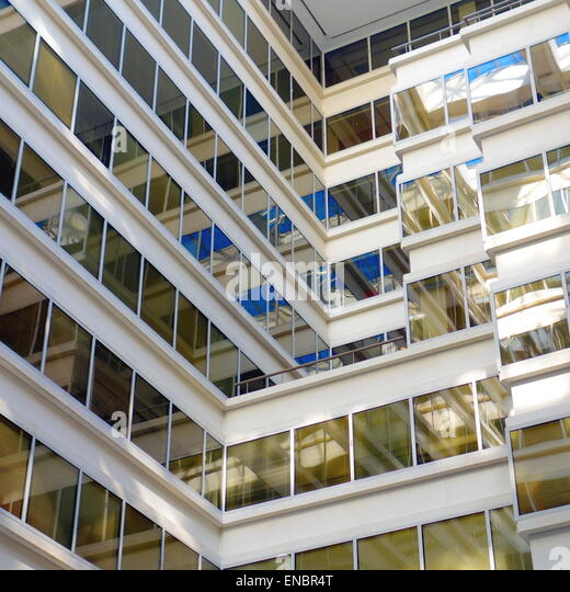 Office building in Washington DC - Stock Image