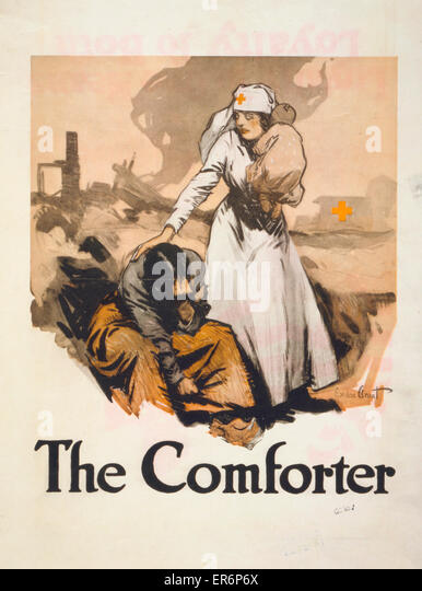 the-comforter-american-red-cross-poster-