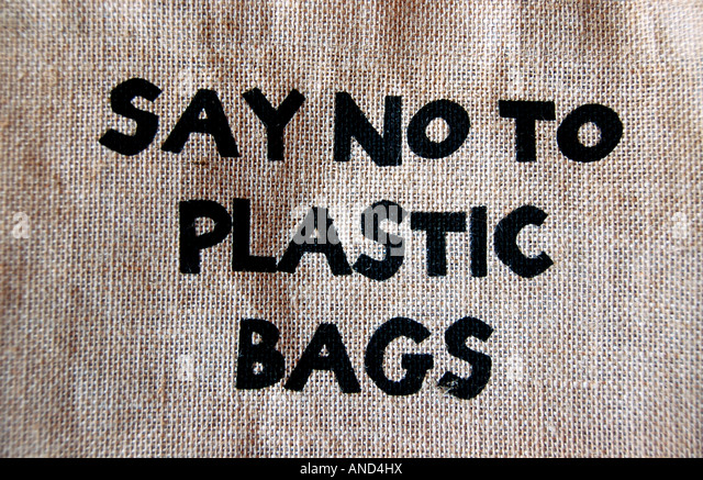 say no to plastic bag Say 'no' to plastic bags the thinner bags are a major threat to the environment and are non-disposable hence governments of indian an.