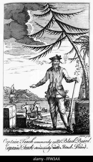 captain charles johnsons imagery in describing blackbeard essay General and true history of the lives and actions of the most famous highwaymen rare book appeared under the name of the fictitious captain charles johnson.