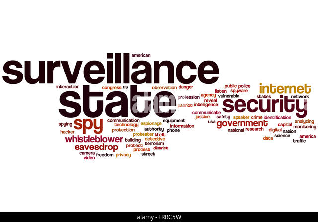 surveillance and the state essay Government surveillance of internet information technology essay such as surveillance which has been justified by the the united states' case of surveillance.