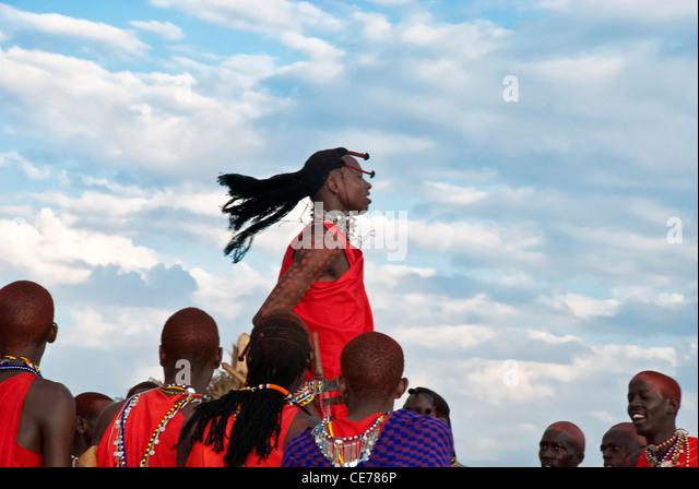 masai-men-doing-a-jumping-dance-wearing-