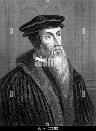 a biography of john calvin a french theologian and pastor
