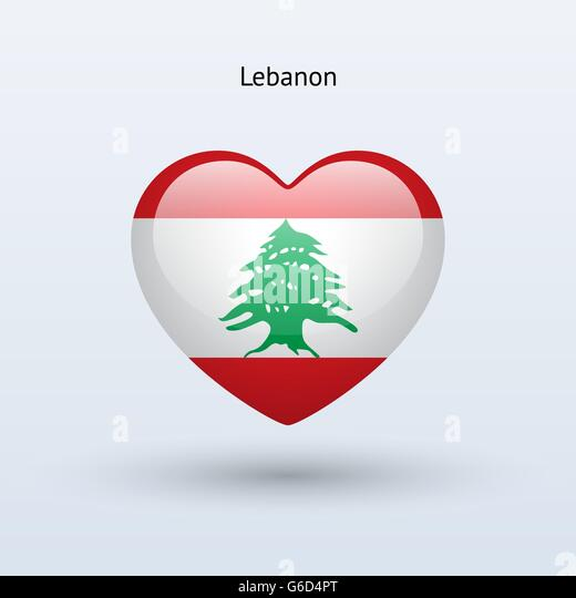Flag Of Lebanon Vector Images Stock Photos amp Vectors